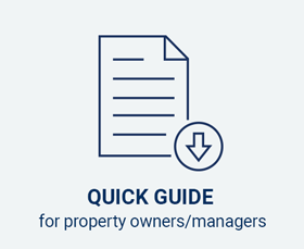 Quick guide for property owners/managers