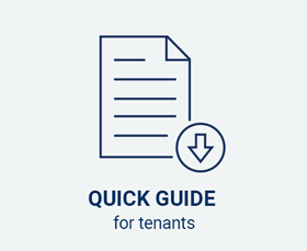Quick guide for tenants