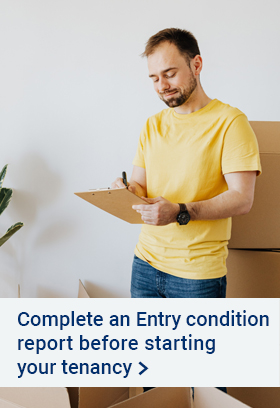 Entry condition report promotion