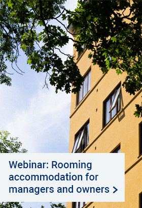 Webinar - For managers and owners of rooming accommodation