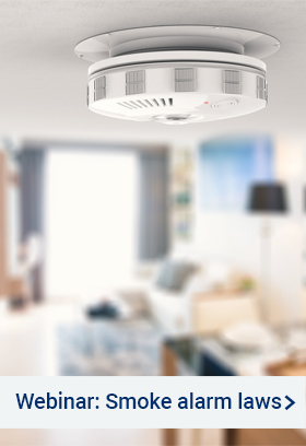 Webinar - Smoke alarm laws – what you need to know in Queensland