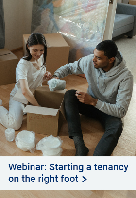 Webinar - Starting a tenancy on the right foot