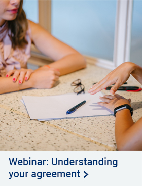 Webinar - Know and understand your agreement