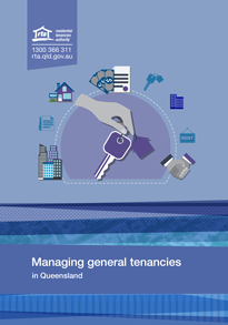 Managing general tenancies booklet cover