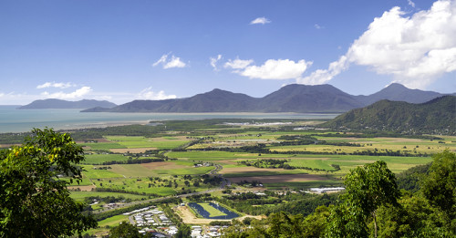 Cairns aerial photo